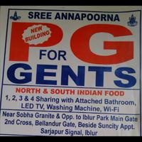 Shri Annapoorna PG Pg in Bangalore